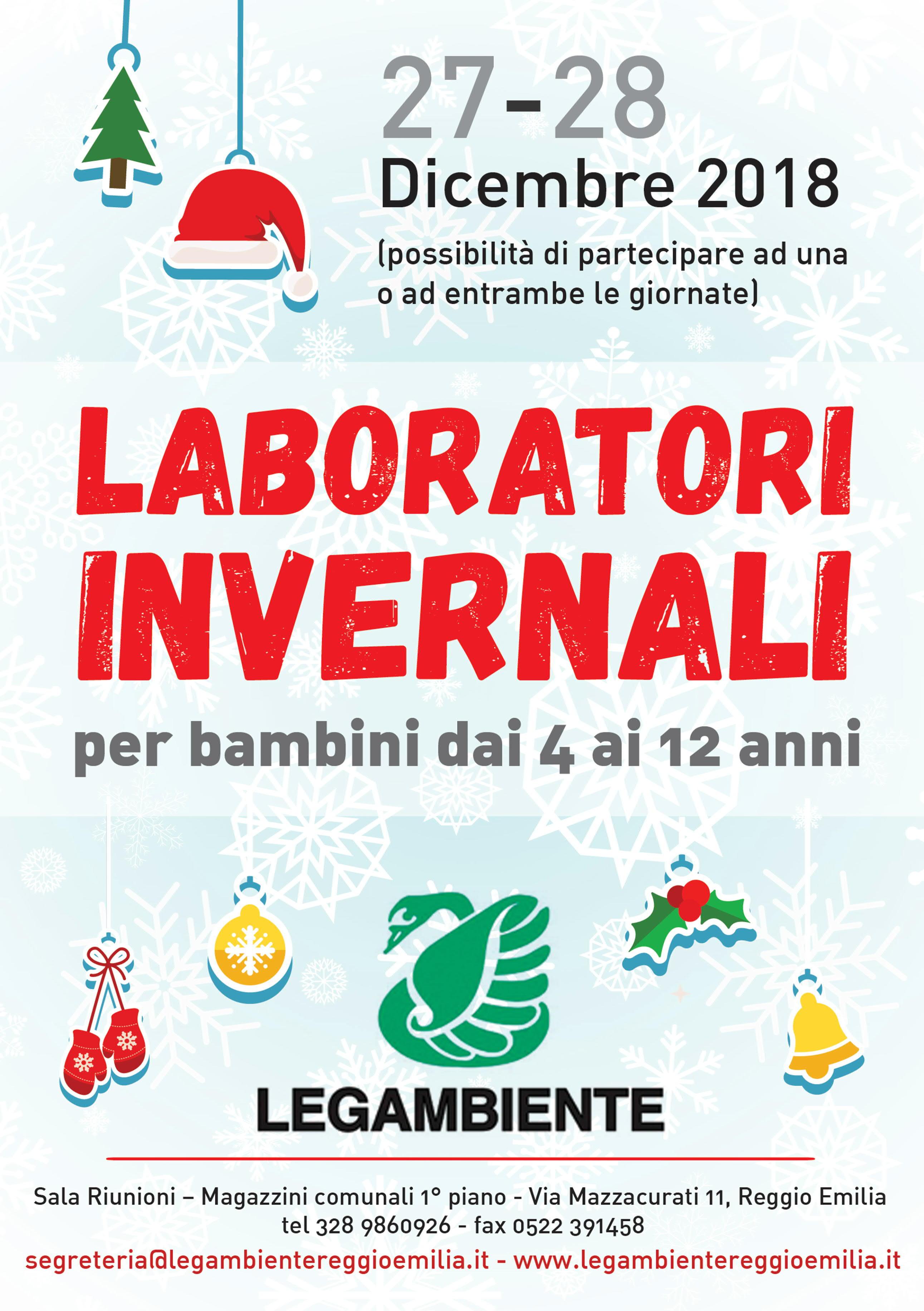 LABORATORI DI NATALE PER BAMBINI A LEGAMBIENTE 159d05dde86